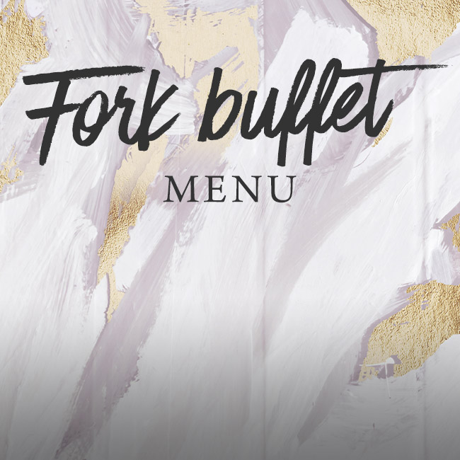 Fork buffet menu at The White Horse