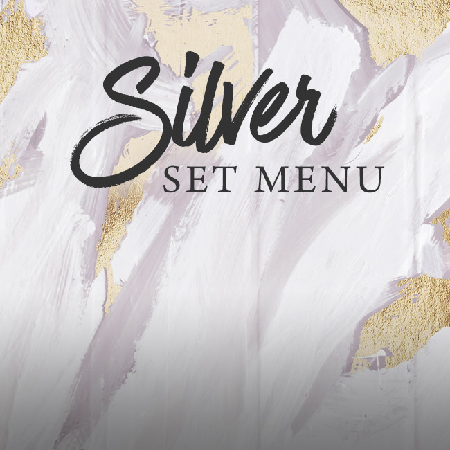Silver set menu at The White Horse
