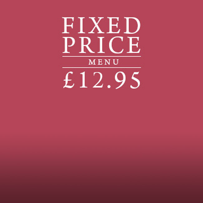 Fixed Price Menu at The White Horse